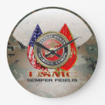 USMC Semper Fi [edición especial] [3D] Reloj De Pared