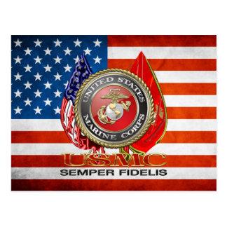 USMC Semper Fi [edición especial] [3D] Tarjeta Postal