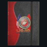 """USMC Semper Fi [Special Edition] [3D] Cover For iPad Air<br><div class=""""desc"""">Introducing project """"Military Insignia 3D"""", showcasing top quality military heraldry designs. Here you will find customizable gifts featuring special edition of the USMC Emblem. The United States Marine Corps (USMC) is a branch of the United States Armed Forces responsible for providing power projection from the sea, using the mobility of...</div>"""