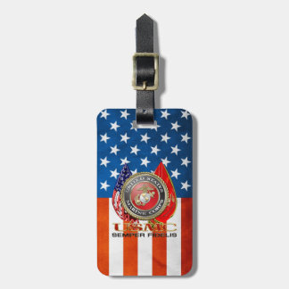 USMC Semper Fi [Special Edition] [3D] Luggage Tag