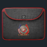 "USMC Semper Fi [Special Edition] [3D] MacBook Pro Sleeve<br><div class=""desc"">Introducing project ""Military Insignia 3D"", showcasing top quality military heraldry designs. Here you will find customizable gifts featuring special edition of the USMC Emblem. The United States Marine Corps (USMC) is a branch of the United States Armed Forces responsible for providing power projection from the sea, using the mobility of...</div>"