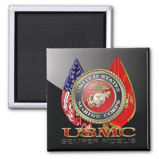 USMC Semper Fi [Special Edition] [3D] Refrigerator Magnets