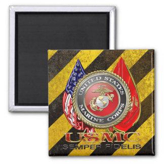 USMC Semper Fi [Special Edition] [3D] Refrigerator Magnet