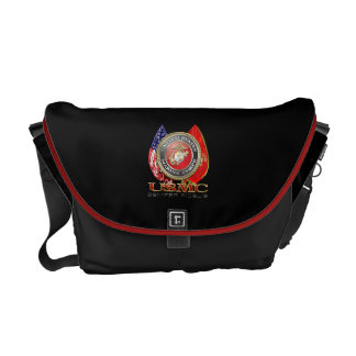 USMC Semper Fi [Special Edition] [3D] Messenger Bags