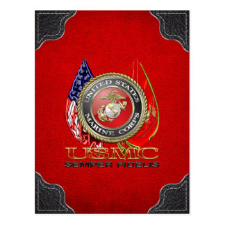 USMC Semper Fi [Special Edition] [3D] Postcard