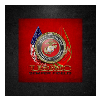 USMC Semper Fi [Special Edition] [3D] Poster