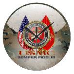 USMC Semper Fi [Special Edition] [3D] Wall Clock