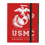 USMC Semper Fidelis [Semper Fi] iPad Cobertura