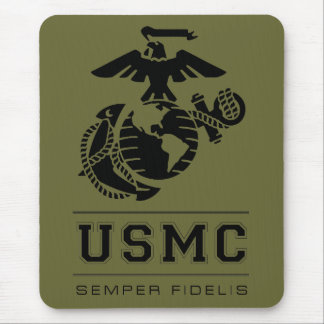 USMC Semper Fidelis [Semper Fi] Mouse Pad