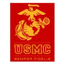 USMC Semper Fidelis [Semper Fi] Postcard