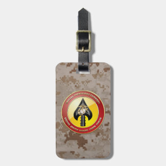 USMC Special Operations Command (MARSOC) [3D] Luggage Tag