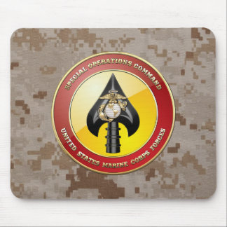 USMC Special Operations Command (MARSOC) [3D] Mouse Pad