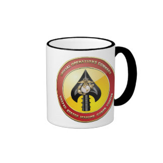 USMC Special Operations Command (MARSOC) [3D] Ringer Coffee Mug