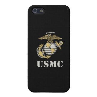USMC [stencil] Cover For iPhone SE/5/5s