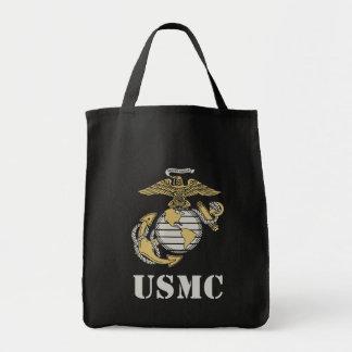 USMC [stencil] Tote Bag