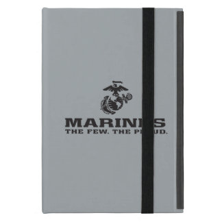 USMC The Few The Proud Logo Stacked - Black iPad Mini Cover