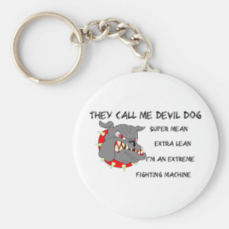 USMC They Call Me Devil Dog Keychain