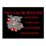 USMC They Call Me Devil Dog Post Card