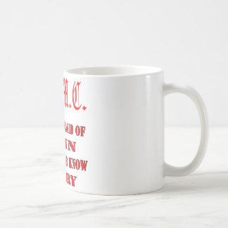 USMC Those Afraid Of Pain Will Never Know Glory Classic White Coffee Mug