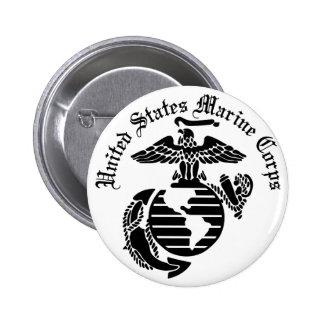 USMC United States Marine Corps Button