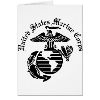 What are some appropriate birthday cards for a U.S. Marine Corps member?