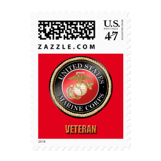 USMC VETERAN $0.47 (1st Class 1oz) Stamp
