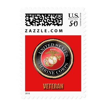 USMC Veteran Postage Sheet
