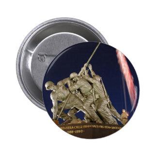 USMC War Memorial Button