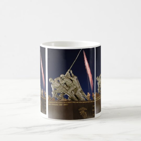 USMC War Memorial Coffee Mug