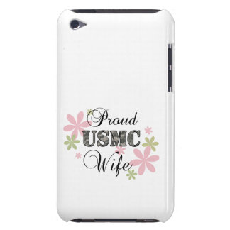 USMC Wife [fl camo] Barely There iPod Case