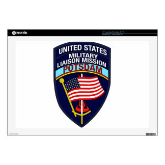 "USMLM Insignia Decals For 17"" Laptops"