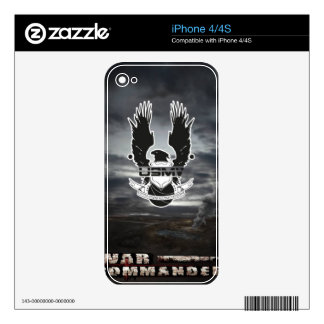 USMV War Commander iPhone 4 Decal