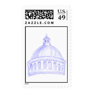 USNA Chapel Stamp
