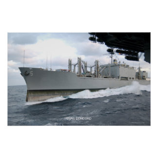 USNS Concord Poster