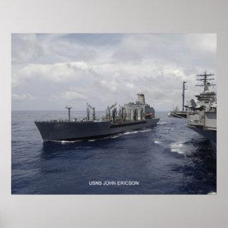 USNS John Ericson Posters
