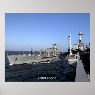 USNS Pecos Poster
