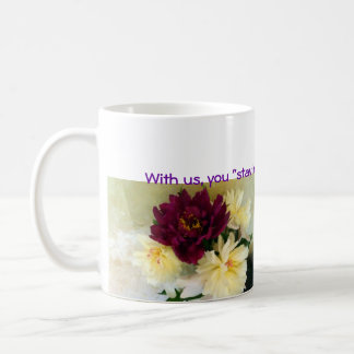 Usonian Inn  floral mug