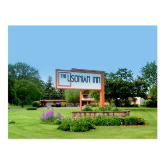 Usonian Inn post card