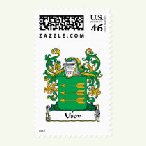 Usov Family Crest Stamps