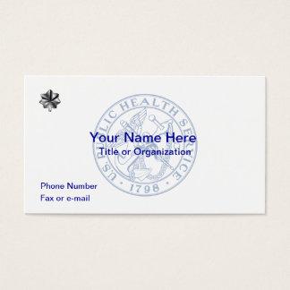 USPHS Commander Business Card
