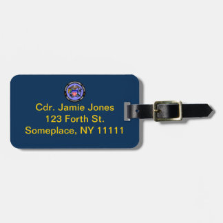 USPHS Commissioned Corps Baggage Tag Travel Bag Tag