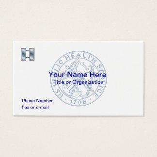 USPHS Lieutenant Business Card