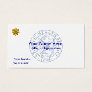 USPHS Lieutenant Commander Business Card