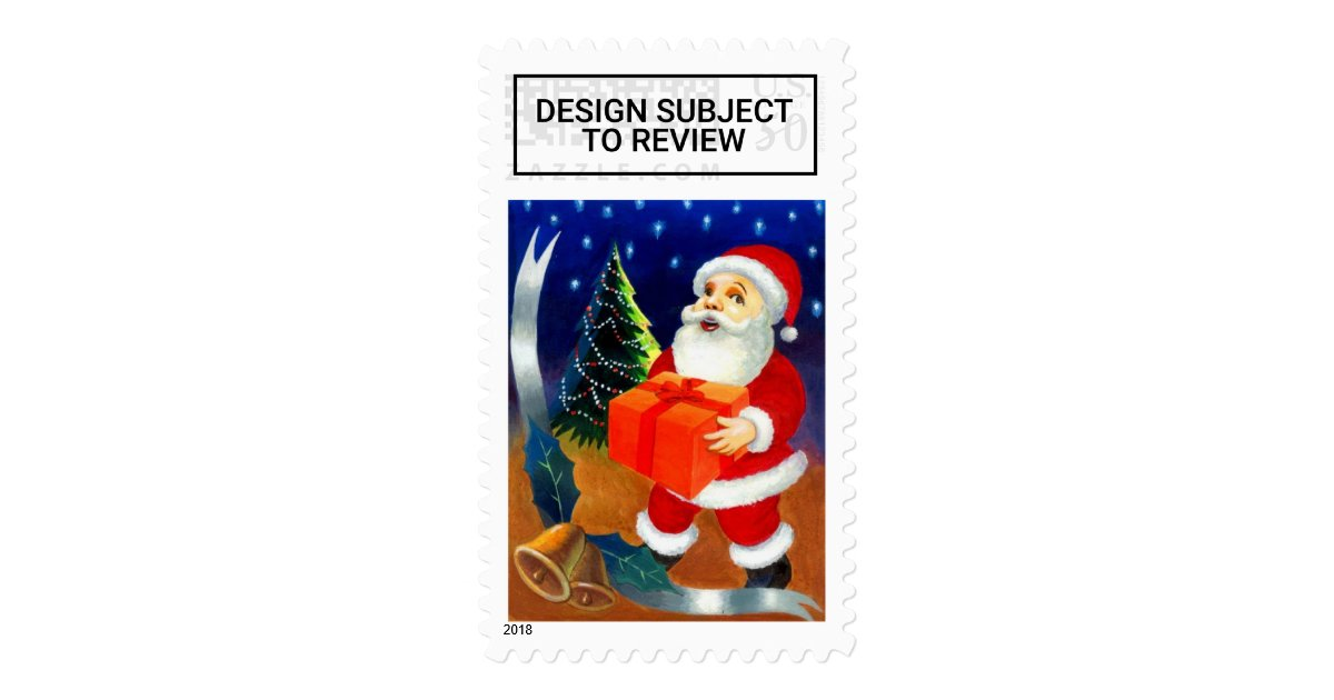 Usps christmas greeting cards postage stamps 2017 zazzle m4hsunfo