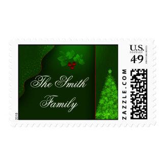 USPS Custom Christmas Postage Stamps