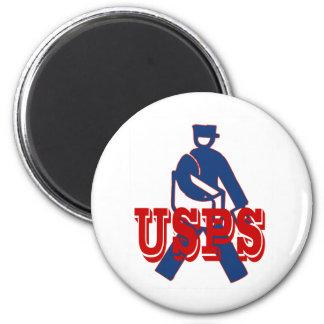 USPS Letter Carrier Refrigerator Magnets