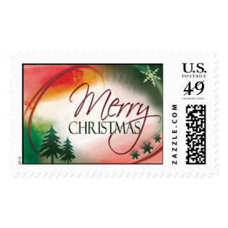 USPS Merry Christmas stamp