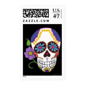 USPS Sugar Skull Stamps