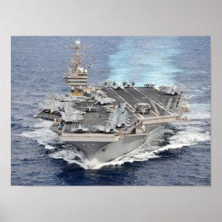 USS Abraham Lincoln (CVN 72) Poster