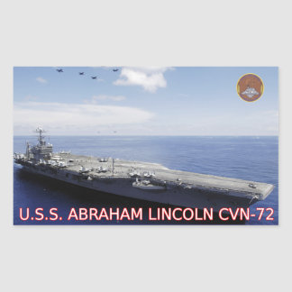 USS Abraham Lincoln CVN-72 Sticker